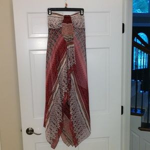 Size 6 Strapless Cocktail Dress